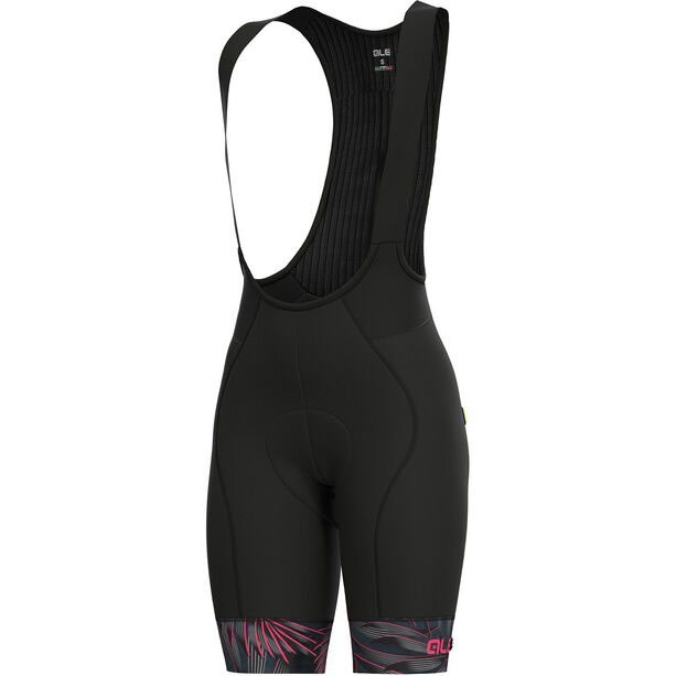 Alé Cycling Graphics PRR Sunset Bib Shorts Damen black flou pink