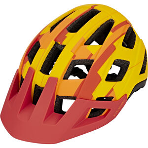 Cube Badger Helm orange camo bei fahrrad.de Online