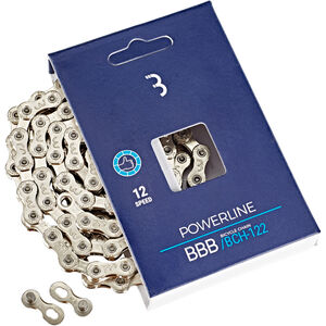 BBB PowerLine BCH-122 Kette 12-fach nickel nickel
