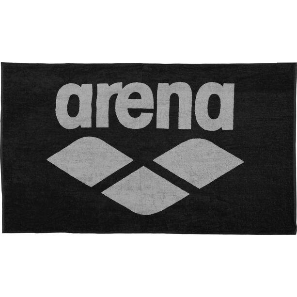 arena Pool Soft Towel black-grey