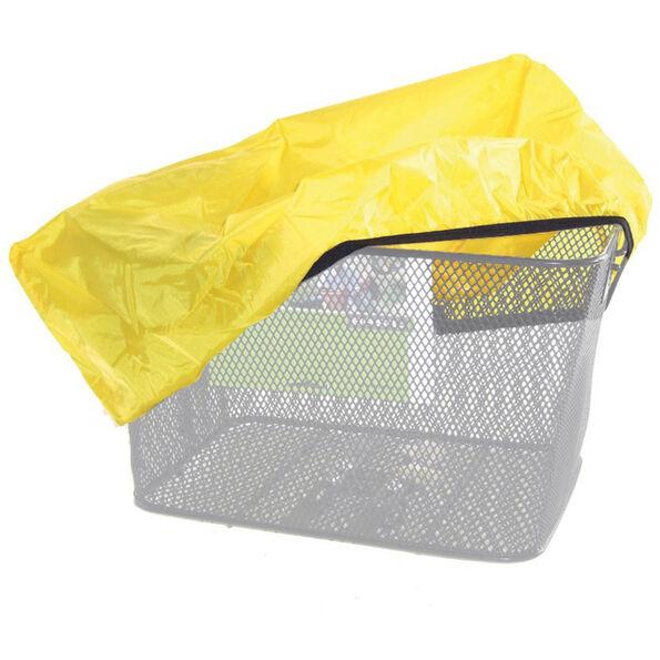 Regenschutzhaube für Körbe gelb