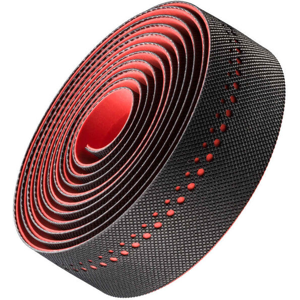 Bontrager Grippytack Handlebar Tape black/red