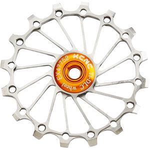 KCNC Jockey Wheel Titan 16T narrow/wide full ceramic bearing silver silver