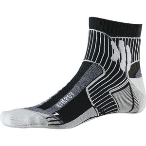 X-Socks Marathon Energy Socks black/anthracite print black/anthracite print