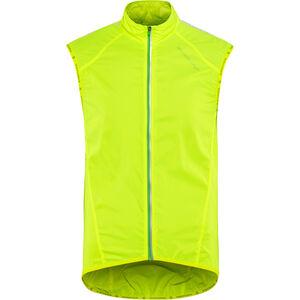 Endura Pakagilet II Windproof Vest hi-viz yellow