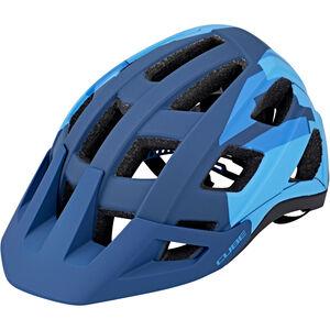 Cube Badger Helm blue camo bei fahrrad.de Online