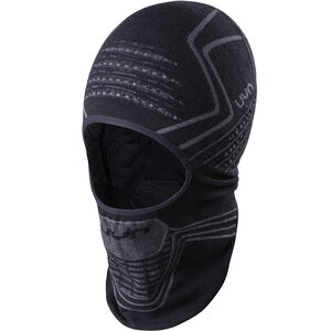 UYN Fusyon OW Face Opening Balaclava Black/Anthracite/Anthracite bei fahrrad.de Online
