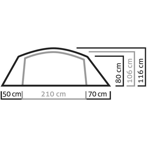 SALEWA Sierra Leone II Tent light grey/cactus