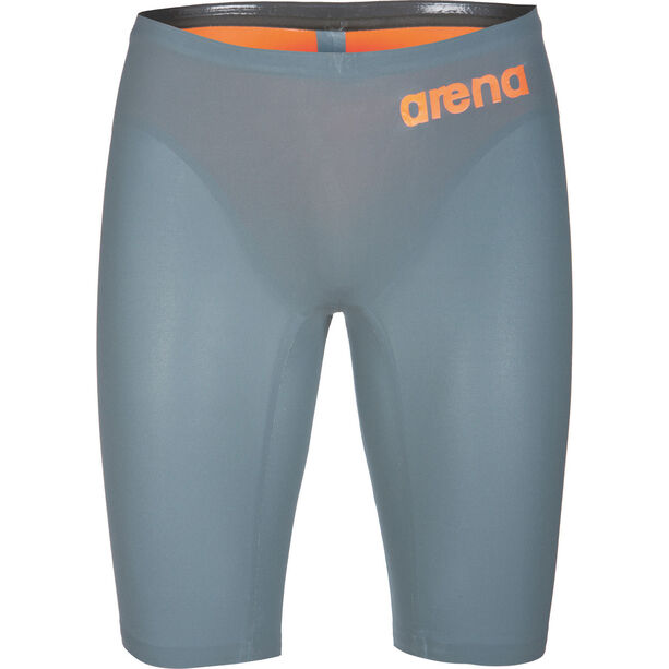 arena Powerskin R-Evo One Jammer Herren grey-bright orange