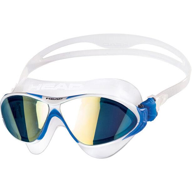 Head Horizon Mirrored Brille clear/white/blue/blue