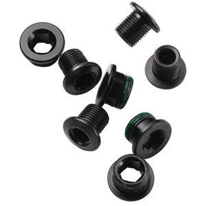 Truvativ Kettenblattschrauben Stahl 5 Stück schwarz schwarz