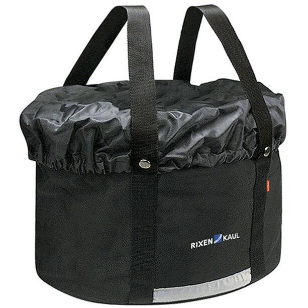 KlickFix Shopper Plus Fahrradtasche schwarz