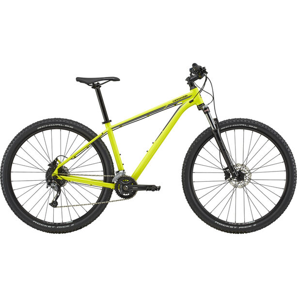 """Cannondale Trail 6 29"""" nuclear yellow"""