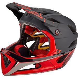 Troy Lee Designs Stage Race MIPS Helmet black/red black/red
