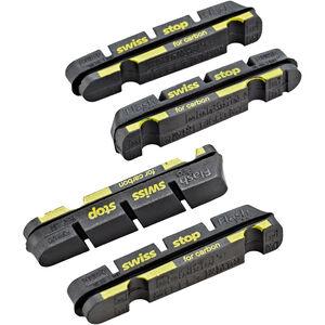 SwissStop FlashPro Bremsbeläge für Shimano/SRAM Carbon black black