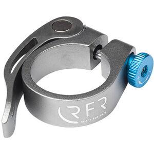 Cube RFR Sattelklemme 31,8 mm mit Schnellspanner grau/blau bei fahrrad.de Online