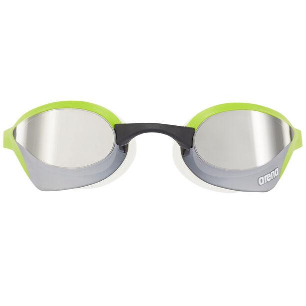 arena Cobra Ultra Mirror Goggles silver-green-white