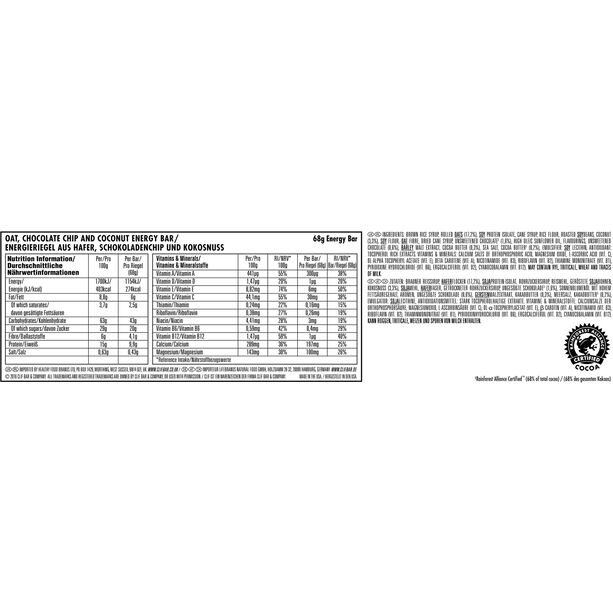 CLIF Bar Energy Riegel Testpaket 6x68g