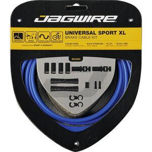 Jagwire Sport XL Universal Bremszugset für Shimano/SRAM blue blue