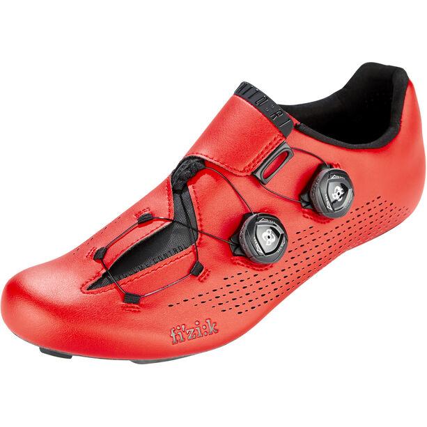 Fizik Infinito R1 Rennradschuhe rot/schwarz