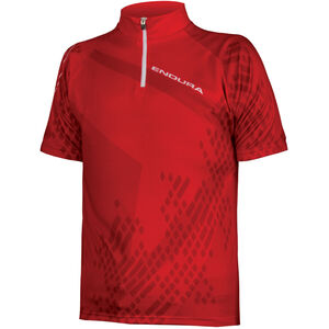 Endura Ray SS Jersey Kinder red red