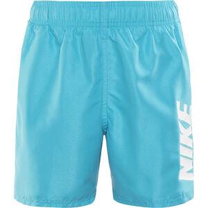 "Nike Swim Volley Shorts Boys 4"" Light Blue Fury bei fahrrad.de Online"