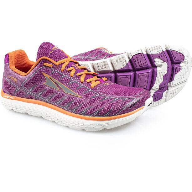Altra One V3 Laufschuhe Damen purple/orange