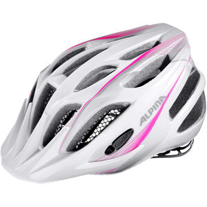 Alpina FB 2.0 Flash Helmet Junior white-pink-silver bei fahrrad.de Online