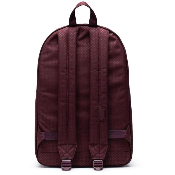 Herschel Pop Quiz Backpack plum dot check