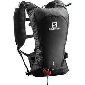 Salomon Agile 6 Backpack Set black black