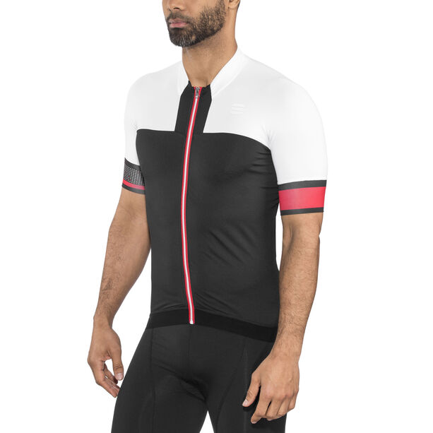 Sportful Strike Jersey Herren black/white