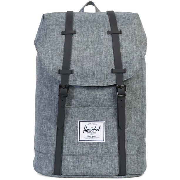 Herschel Retreat Backpack 19,5l raven crosshatch/black