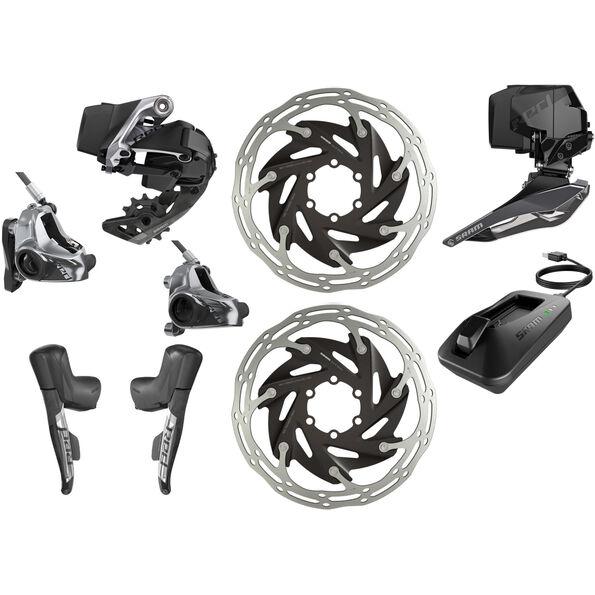 SRAM RED eTap AXS HRD D1 HRD Kit 2x12-fach Flatmount