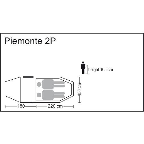 CAMPZ Piemonte Zelt  2P beige bei fahrrad.de Online