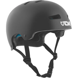 TSG Evolution Solid Color Helmet Kinder satin black satin black