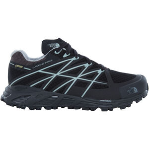 The North Face Ultra Endurance GTX Running Trail Shoes Ladies TNF Black/Monument Grey