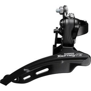 Shimano Tourney TZ FD-TZ510 Umwerfer 3x6/7-fach Down Swing Schelle hoch schwarz schwarz