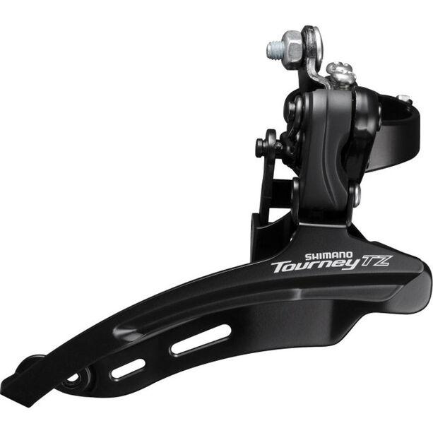 Shimano Tourney TZ FD-TZ510 Umwerfer 3x6/7-fach Down Swing Schelle hoch schwarz