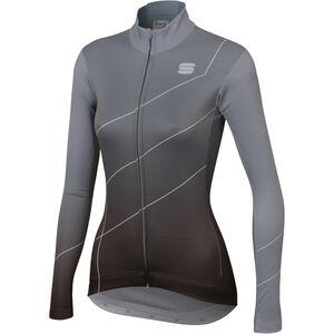 Sportful Shade Langarm Trikot Damen cement/black cement/black