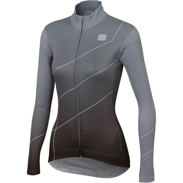 Sportful Shade Langarm Trikot Damen cement/black