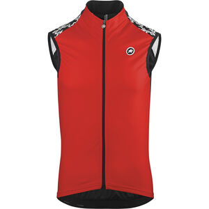 assos Mille GT Spring Fall Vest national red national red