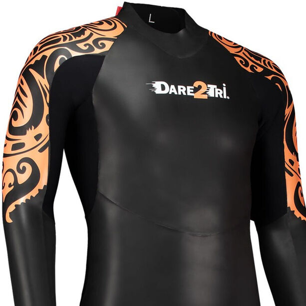 Dare2Tri To Swim Wetsuit Herren black/orange