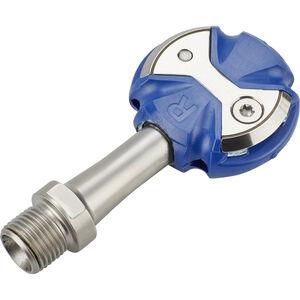 Speedplay Zero Pedalset Edelstahl blau blau
