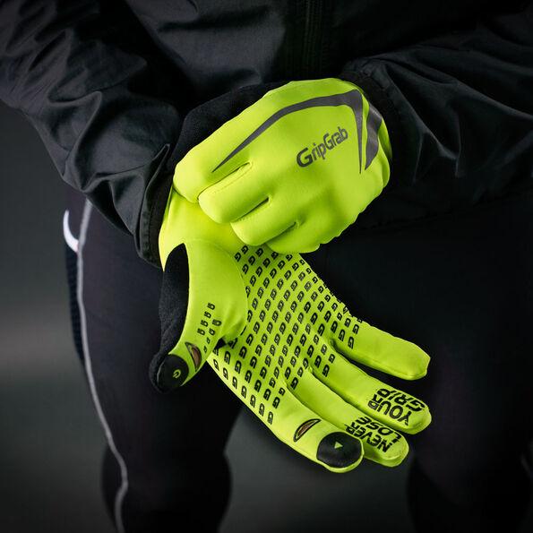 GripGrab Running Expert Hi-Vis Winter Touchscreen Gloves