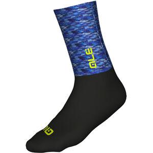 Alé Cycling Merino Logo Socks blue-black blue-black