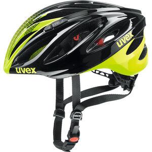 UVEX Boss Race Helmet black-neon yellow bei fahrrad.de Online