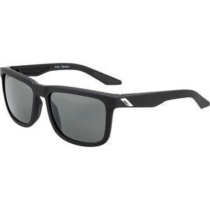 100% Blake Smoke Glasses soft tact black soft tact black