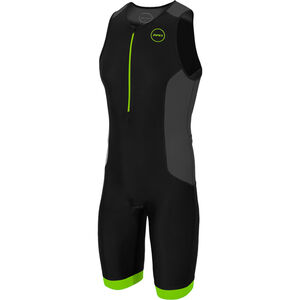 Zone3 Aquaflo Plus Trisuit Herren black/grey/neon green black/grey/neon green