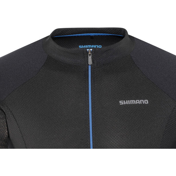 Shimano Escape Jersey Herren black/blue