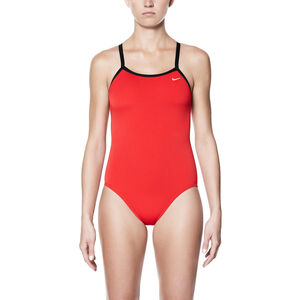 Nike Swim Poly Core Solid Racerback One Piece Damen university red university red
